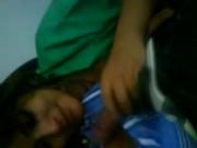 Yenifer cogiendo a su primo Ivan en Puebla