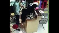 Chino se coje a su empleada nalgona