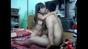 Enamorados cogiendo, porno romantico con su hermosa novia